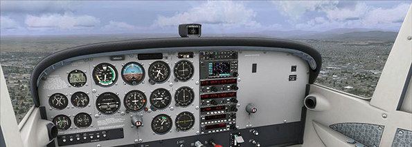 A2A Cessna 172 Trainer Accu-Sim Released for FSX/P3D – Fly